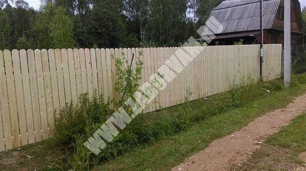 Забор для дачи воскресенск ворота распашные дорого цена