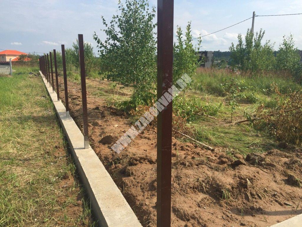 Строительство монолитного фундамента дома в Подольске