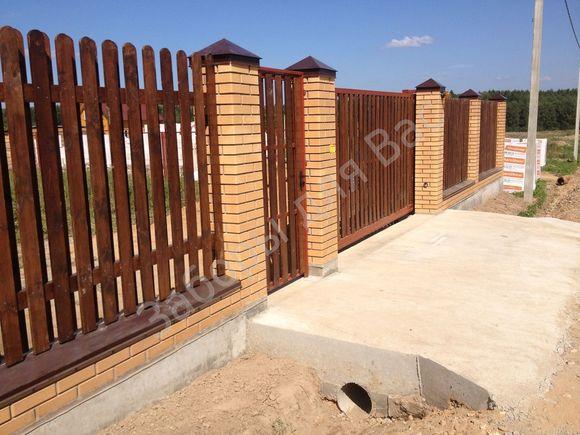 Столбы на забор своими руками