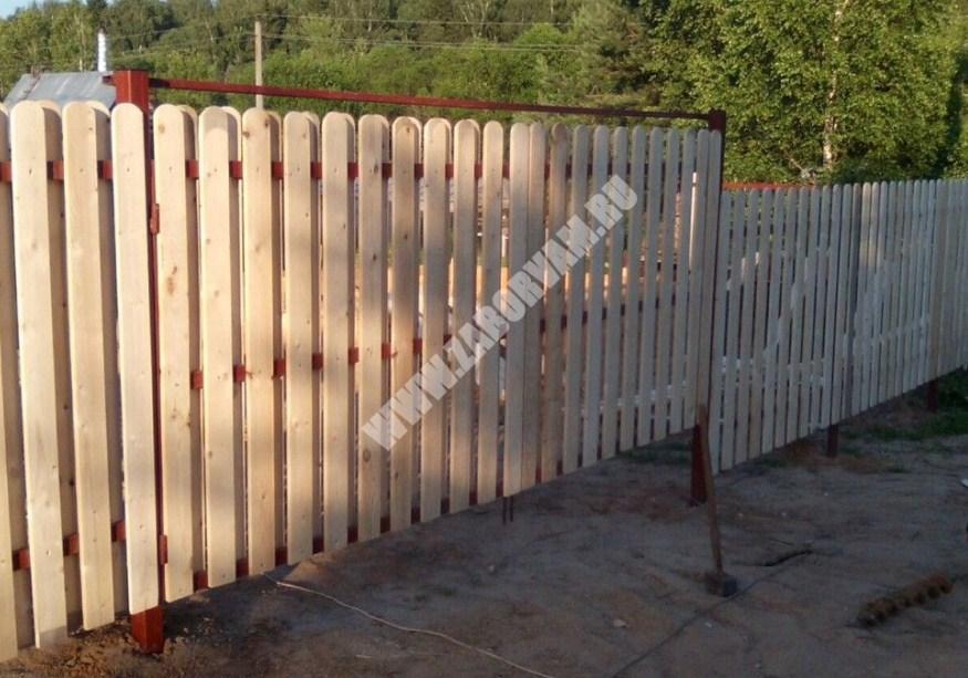 Фундамент под кирпичный забор цена в Химках